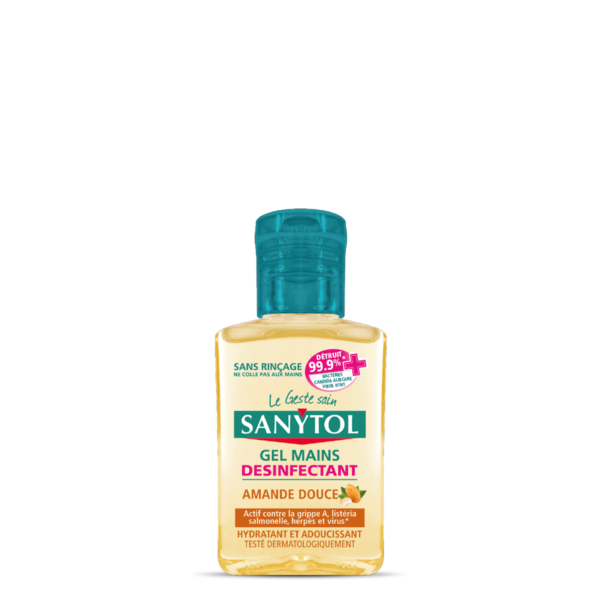 Mini-Size Hand Disinfectant Gel - Sweet Almond